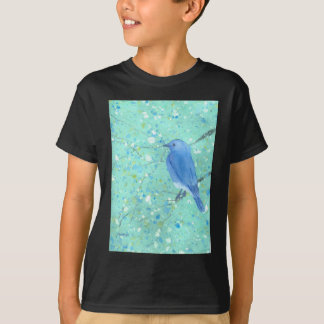 Light and delicate bluebird T-Shirt