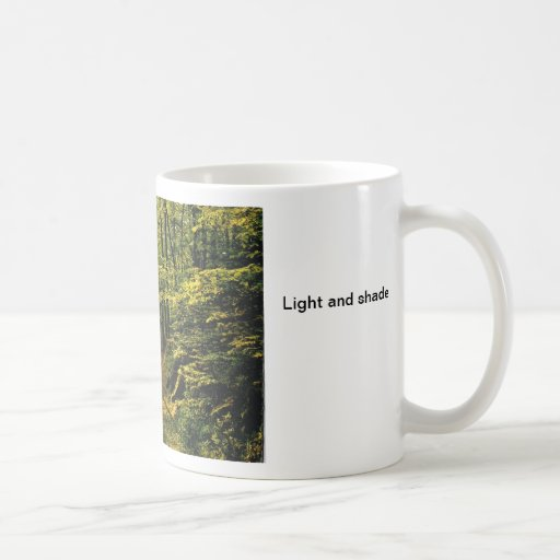 Light and shade mug