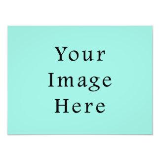 Light Aquafresh Blue Aqua Fresh Green Color Trend Photographic Print