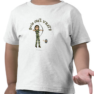 Light Archery in Camouflage Tee Shirts