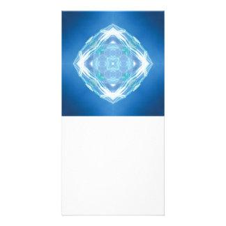 Light Art Designed Book Mark Photo Card Template