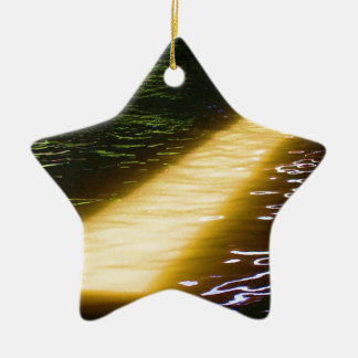Light at end of the Tunnel: Sunlight Spectrum Ceramic Star Ornament