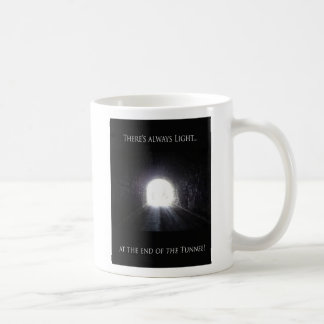 Light At The End Of The Tunnel Coffee Cup