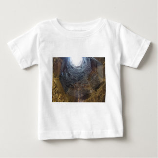 Light at the end of the tunnel . Hope concept Baby T-Shirt
