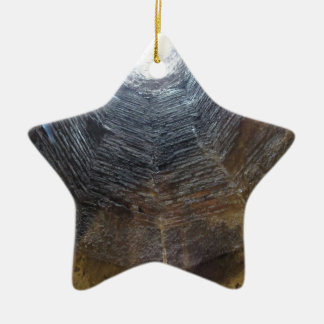Light at the end of the tunnel . Hope concept Ceramic Ornament