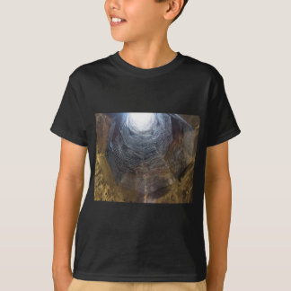 Light at the end of the tunnel . Hope concept T-Shirt