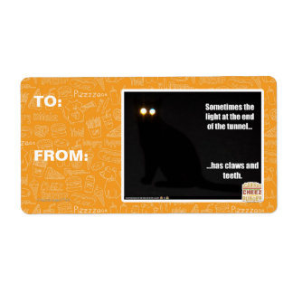 Light at the End of the Tunnel Shipping Label