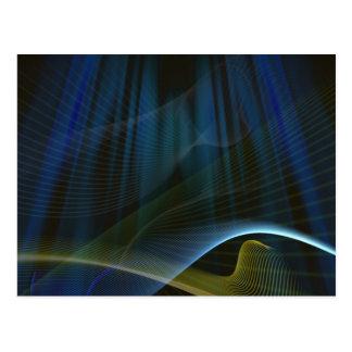 Light Aura: Abstract Artwork: Postcard