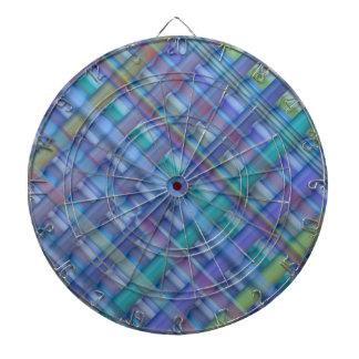 Light Beams  : Blue Hue Colorful Spectrum Dartboard