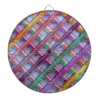 Light Beams  : Colorful Spectrum Dart Board