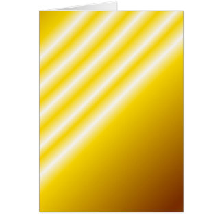Light beams on yellow background greeting card