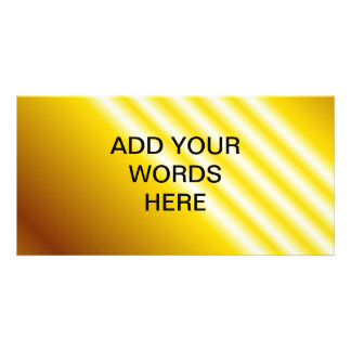 Light beams on yellow background photo cards