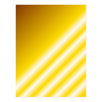 Light beams on yellow background post card