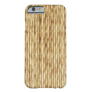 LIGHT BEIGE BAMBOO BARELY THERE iPhone 6 CASE