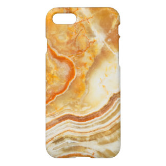 Light Beige & Brown Marble iPhone 7 Case