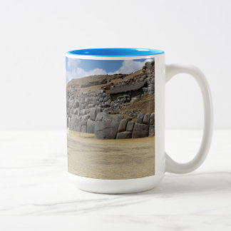 Light Blue 444 ml Two-Tone Mug
