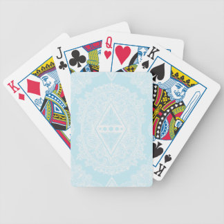 Light Blue , Age of awakening, bohemian, newage Bicycle Playing Cards