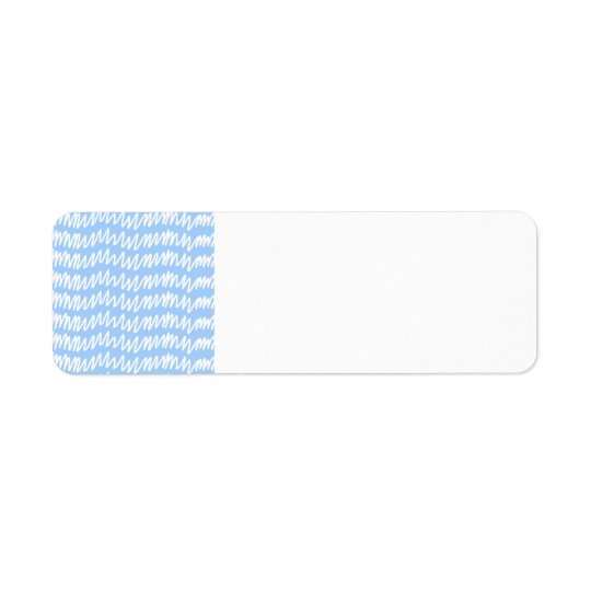 Light blue and white squiggle pattern.