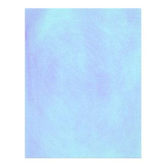 Light Blue Blends Baby Shower Letterhead