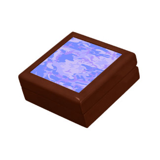 Light Blue Camouflage Pattern Gift Boxes