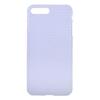 Light blue chevron pattern iPhone 7 plus case