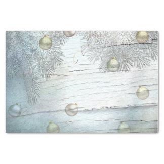 Light Blue Christmas Ornaments Tissue Paper