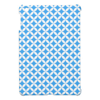 Light Blue Circle Pattern Cover For The iPad Mini