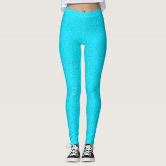 Light blue glitter Leggings