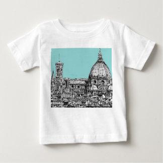 Light blue Italian ink Tee Shirt