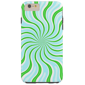 Light Blue & Lime Psychedelic iPhone 6/6s Case