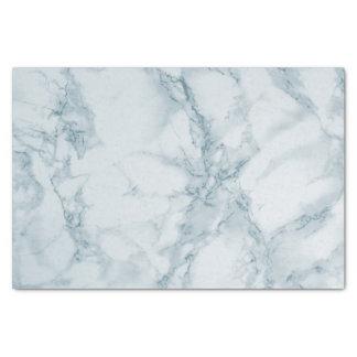 Light Blue Marble Design Tissue Paper