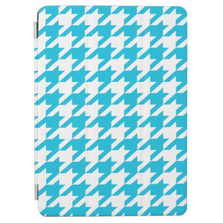 Light Blue Moods Houndstooth iPad Air Cover