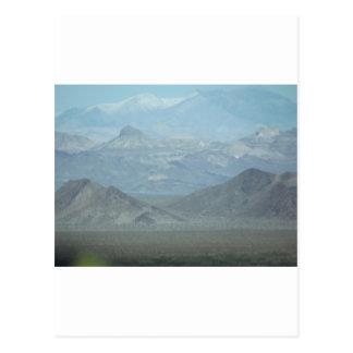 Light Blue Mountains Postcard