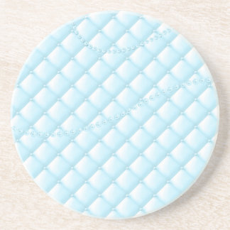 Light blue pearls coaster