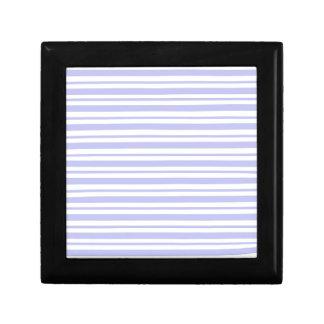 Light Blue Pinstripe Gift Box