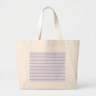 Light Blue Pinstripe Large Tote Bag