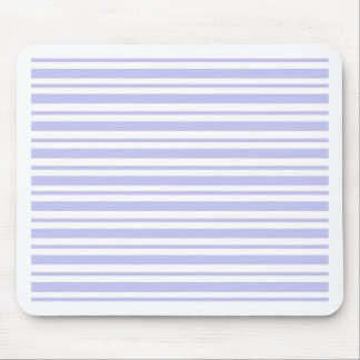 Light Blue Pinstripe Mouse Pad