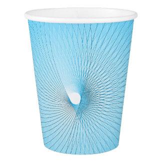 Light Blue Plafond Paper Cup