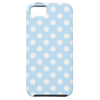 Light Blue Polka Dot iPhone 5 Case