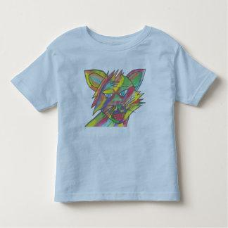 Light Blue-Rainbow Cat Design, toddler t-shirt