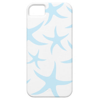 Light Blue Starfish Pattern. iPhone 5 Cases