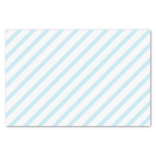 Light Blue Stripe Tissue Paper