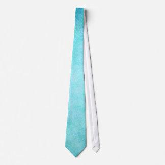 Light Blue Teal Aqua Watercolor Paper Colorful Tie