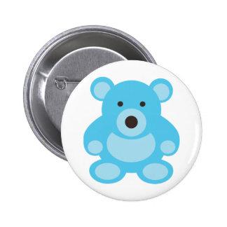 Light Blue Teddy Bear Pin