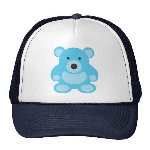 Light Blue Teddy Bear Hats