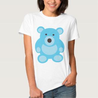 Light Blue Teddy Bear T Shirt