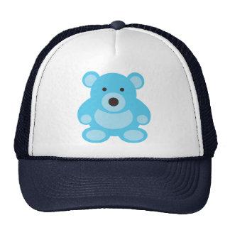 Light Blue Teddy Bear Trucker Hat