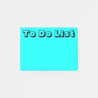 Light Blue   To Do List Post-it Notes