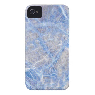 Light Blue Veined Grey Marble Case-Mate iPhone 4 Cases