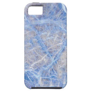 Light Blue Veined Grey Marble iPhone 5 Case